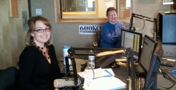 Dr. Jane Leavell and Jennifer Morgan, host of Rocky Mountain Viewpoints on Clear Channel Radio